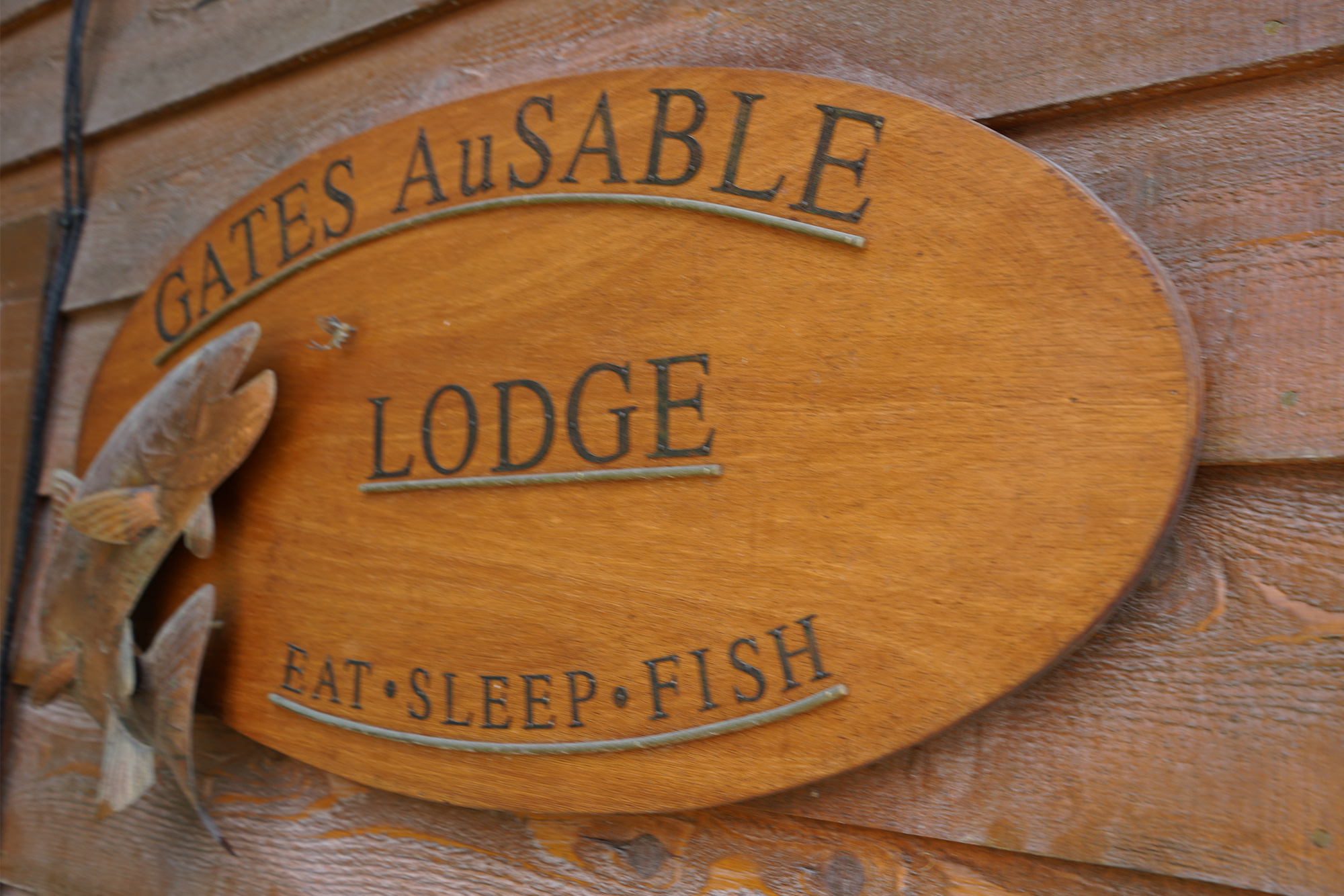 Au Sable River Lodge in Michigan