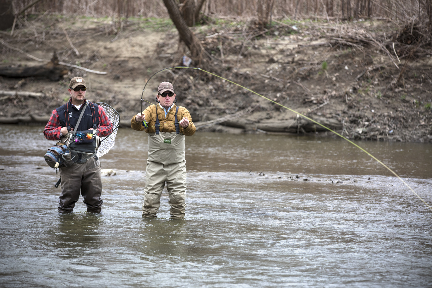 Fly fishing the chagrin river in ohio american rivers tour for Fly fishing ohio