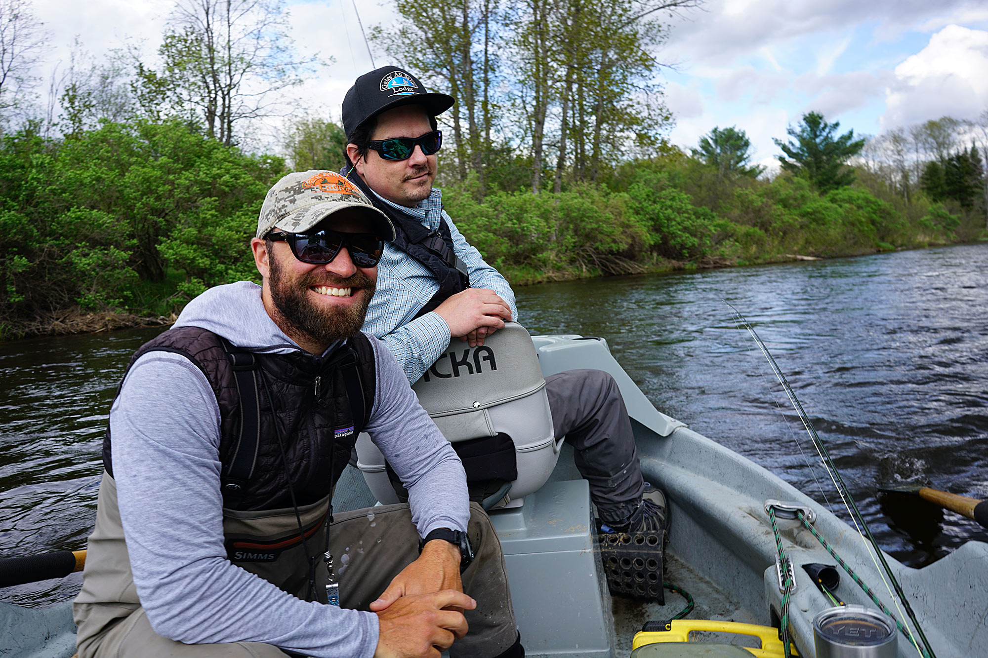 Matt Haley & Steve Pels day 1 in Au Sable