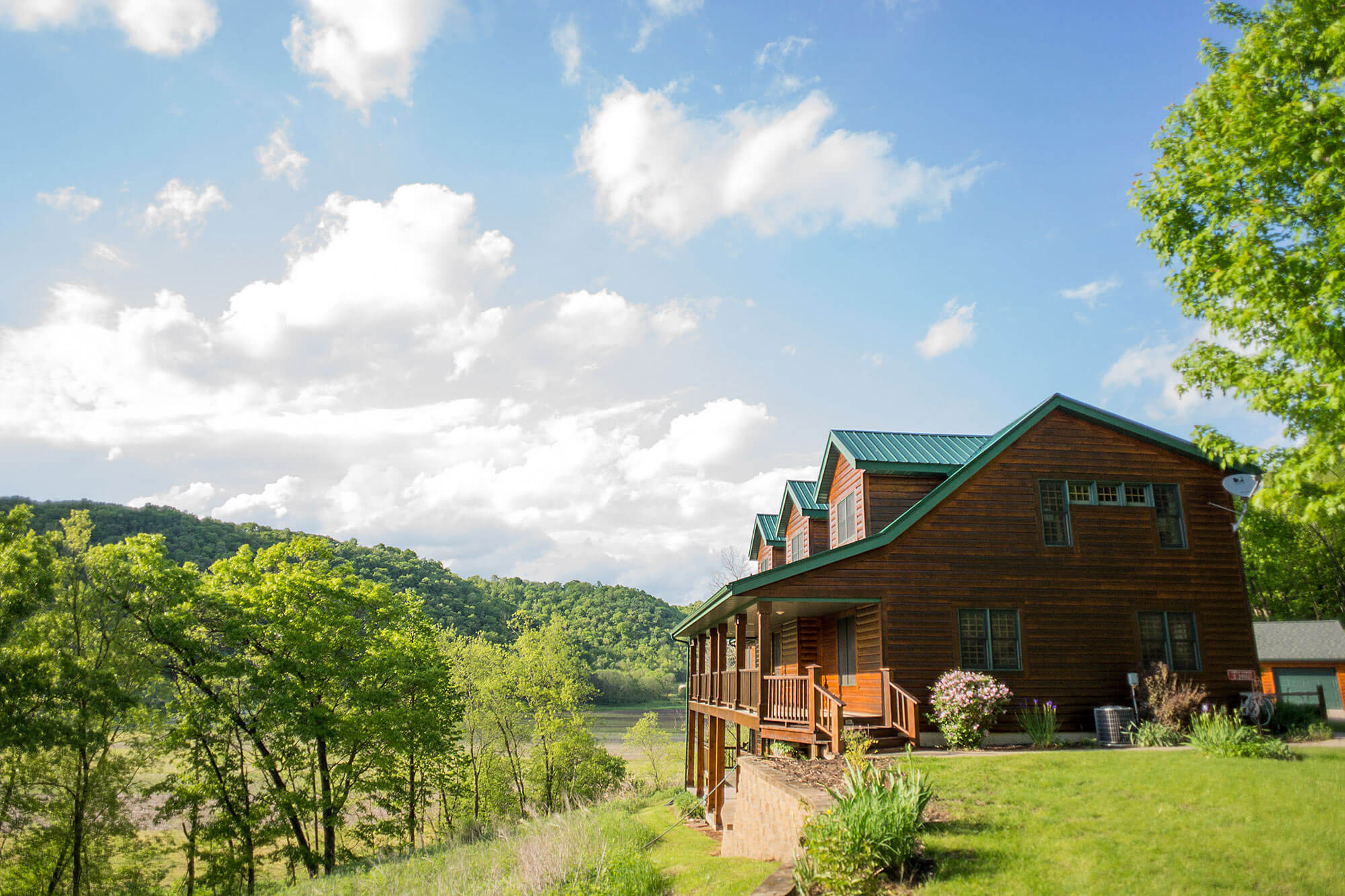 Mayfly Lodge in Viroqua, Wisconsin | Driftless Area