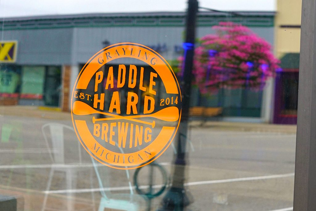 Paddle Hard Microbrewery, Grayling, Michigan