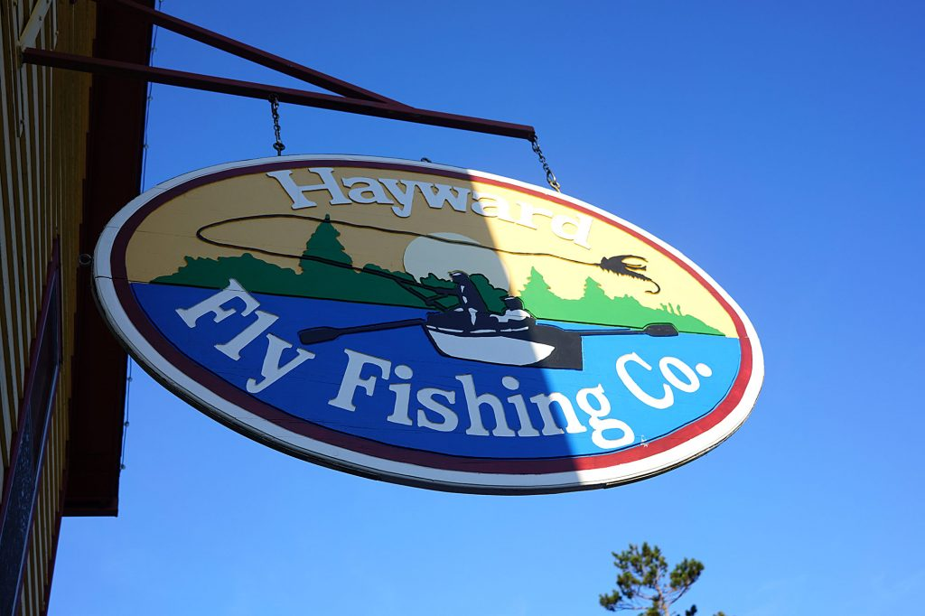 Larry's fly shop | Hayward, Wisconsin