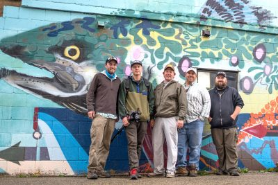 The American Rivers Tour crew of the Driftless area