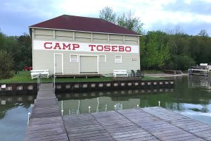 Boathouse at Camp Tosebo