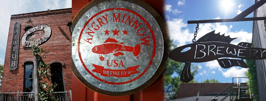 The Angry Minnow Brewery in Hayward, Wisconsin