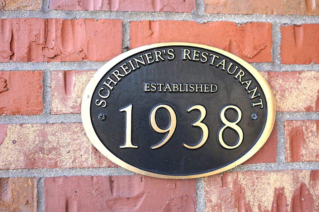 Schreiners Restaurant established in 1938 | Fond Du Lac, Wisconsin off US 41