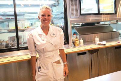Meet Ace: Schreiner's cheerful waitress, 2 years in service