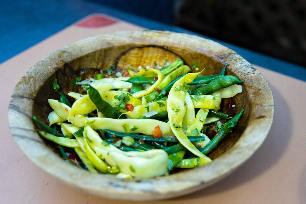 Sofrito Green Bean Salad