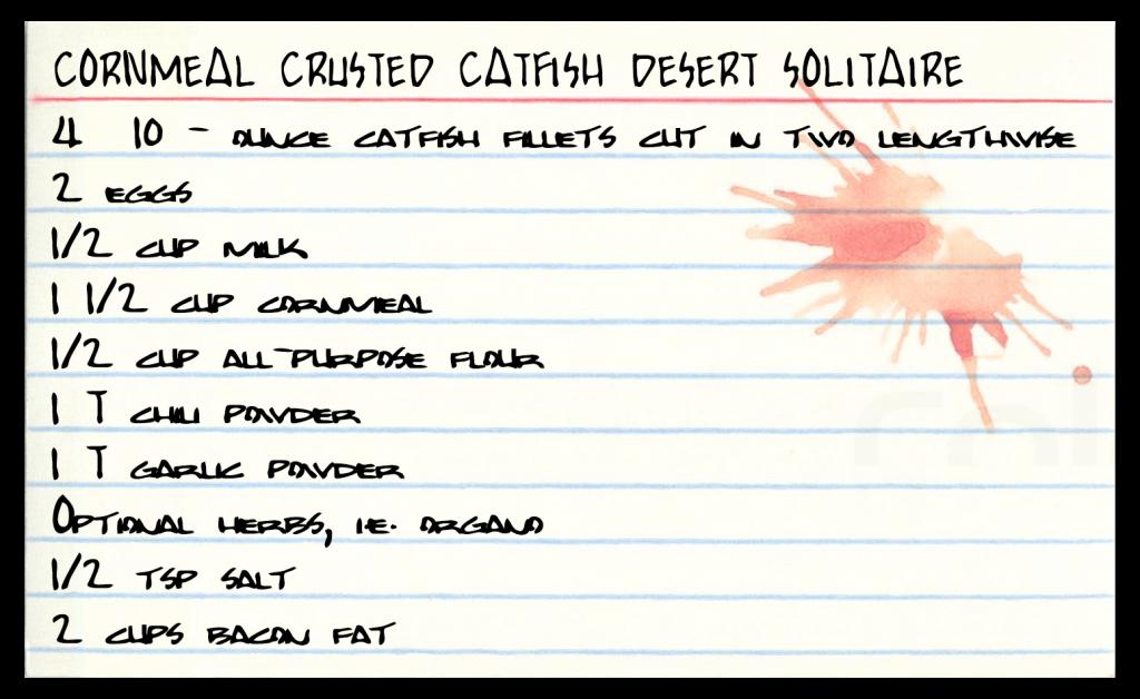 Catfish Recipe Card