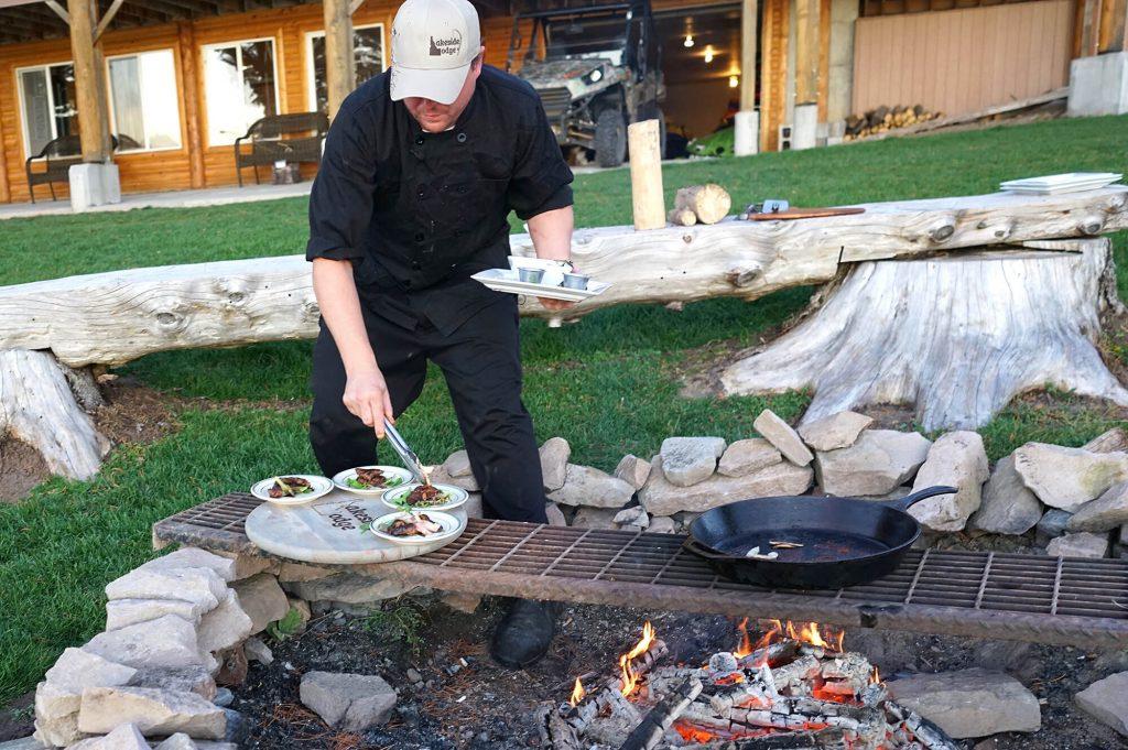Adapted from chef Jacob Dibble's recipe Lakeside Lodge, Island Park, Idaho