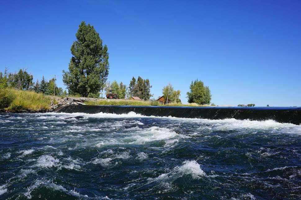St. Anthony spillway - Henrys Fork River