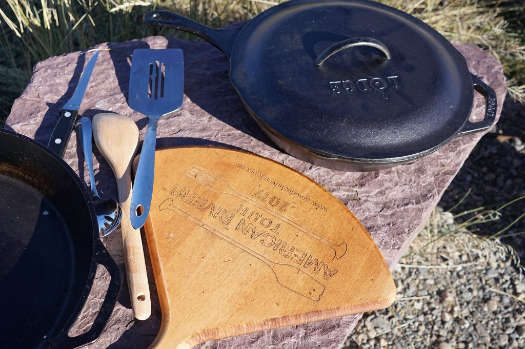 Cast iron on the Henry's fork | preping for Red flannel hash
