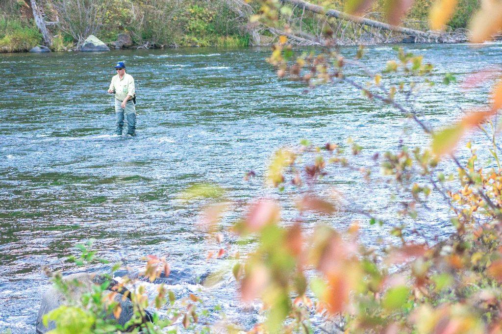 Henrys Fork River, above Mesa Falls