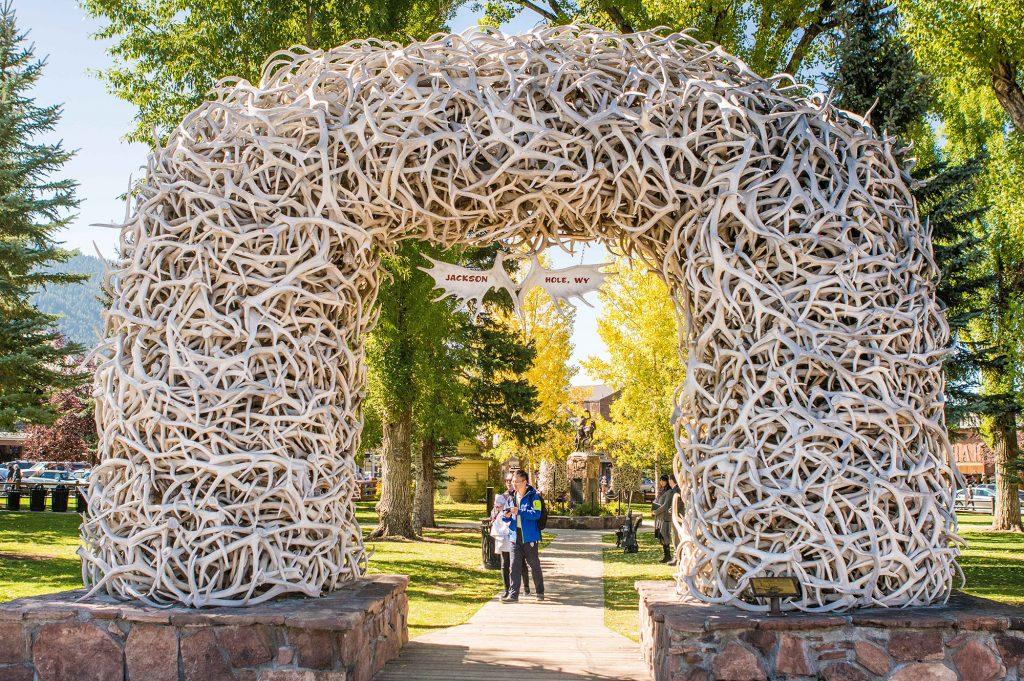Jackson Square, Elk Horn Arch