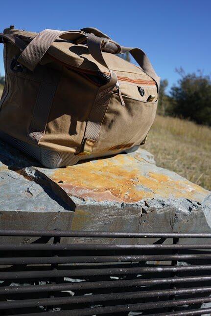 Fishpond canvas bag cooler