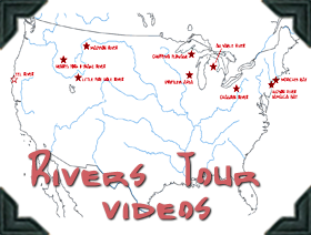 Rivers Tour Posts with videos, text and photos