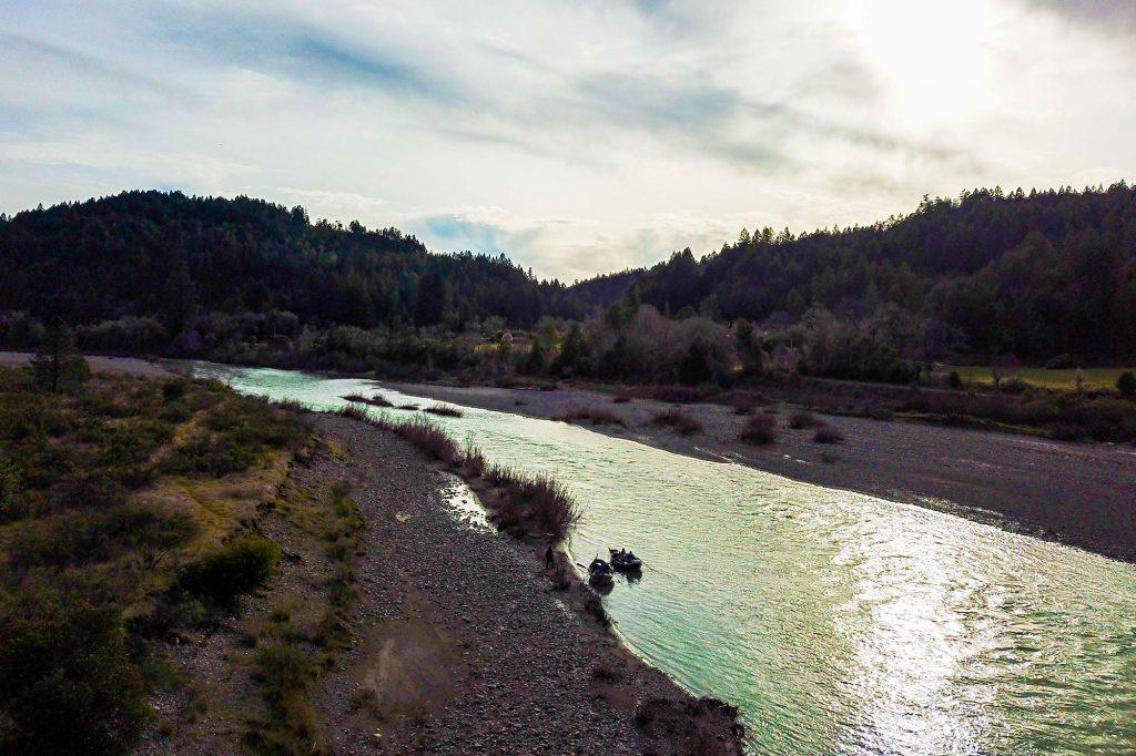 The Eel River in California