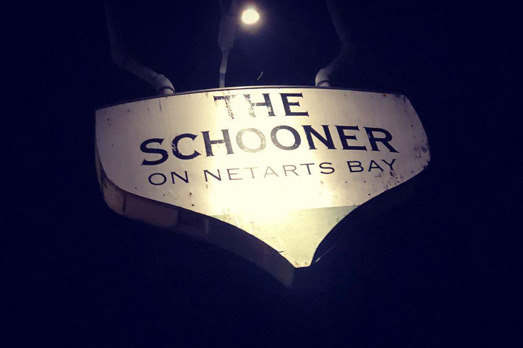 The Schooner, a gem of a seafood restaurant, on Netarts Bay