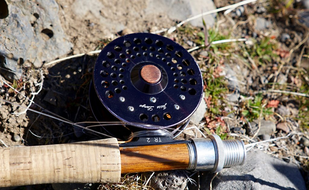 Custom fly reel, Deschutes
