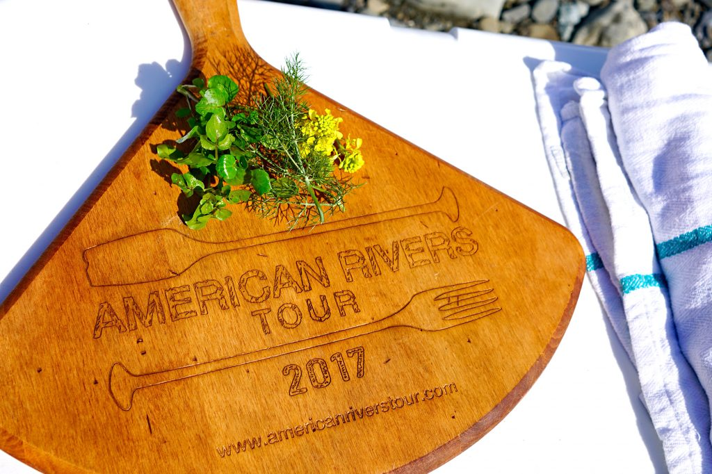 American Rivers Tour | Cutting Board in action