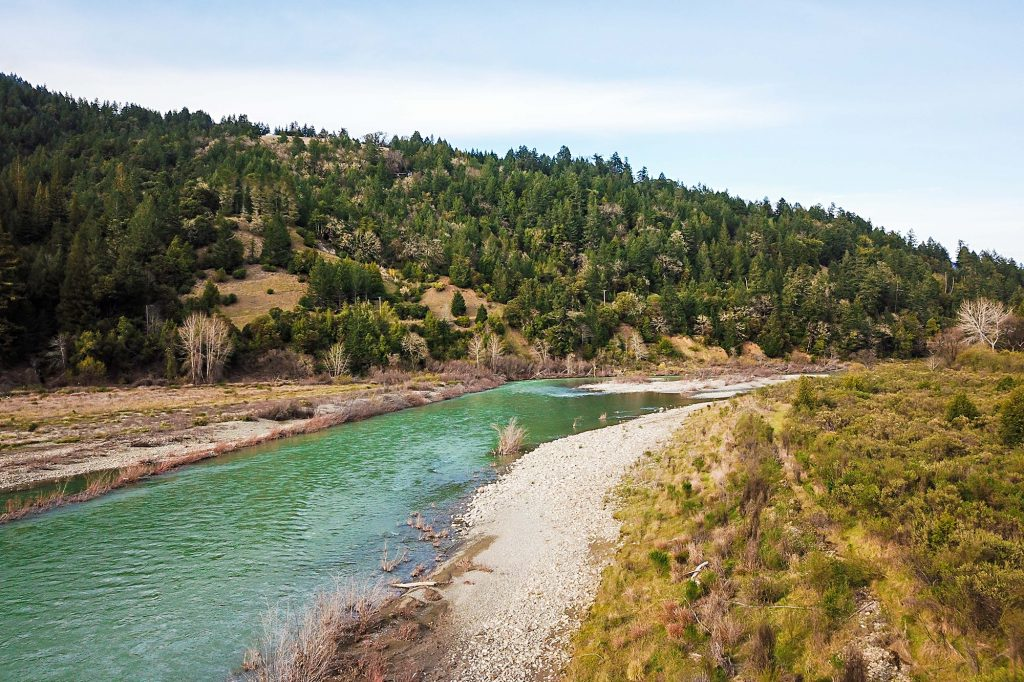 Eel River in CA