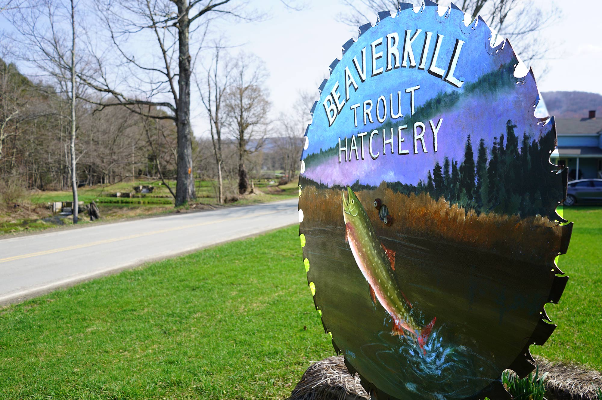Beaverkill Trout Hatchery | run by fifth generation of the Shaver family