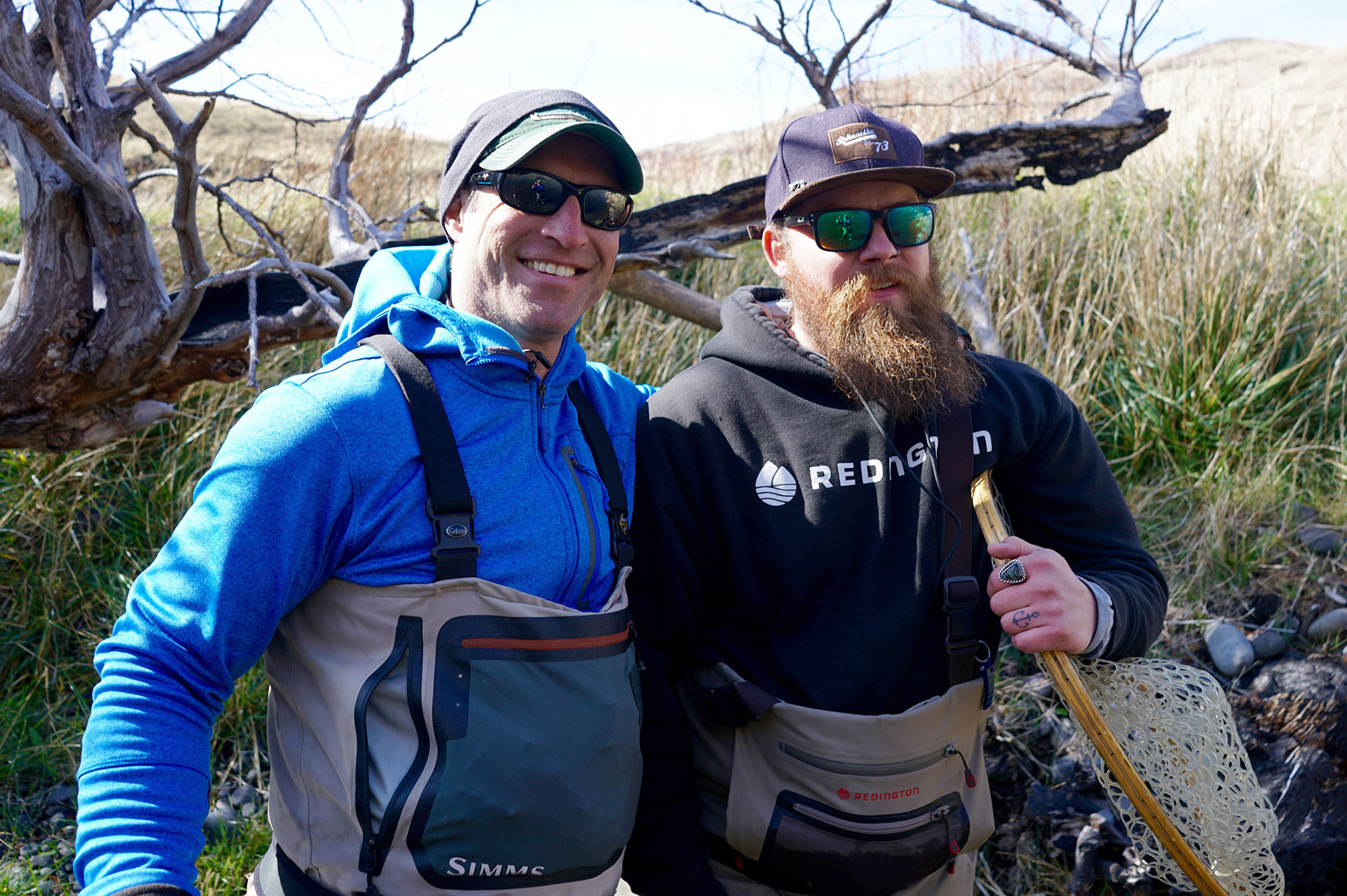 Jesse Lange and our guide Travis Lucas