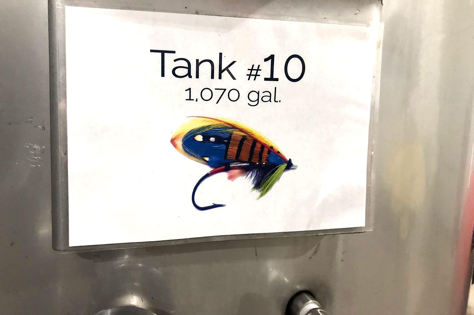 Lange wineyard - fermenting tanks