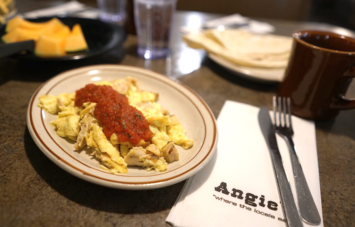 Breakfast at Angie's Restaurant in Logan, Utah | Where the locals eat