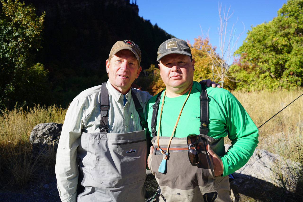 Colin and Donicio Gomez at the Logan Canyon 9.24.18