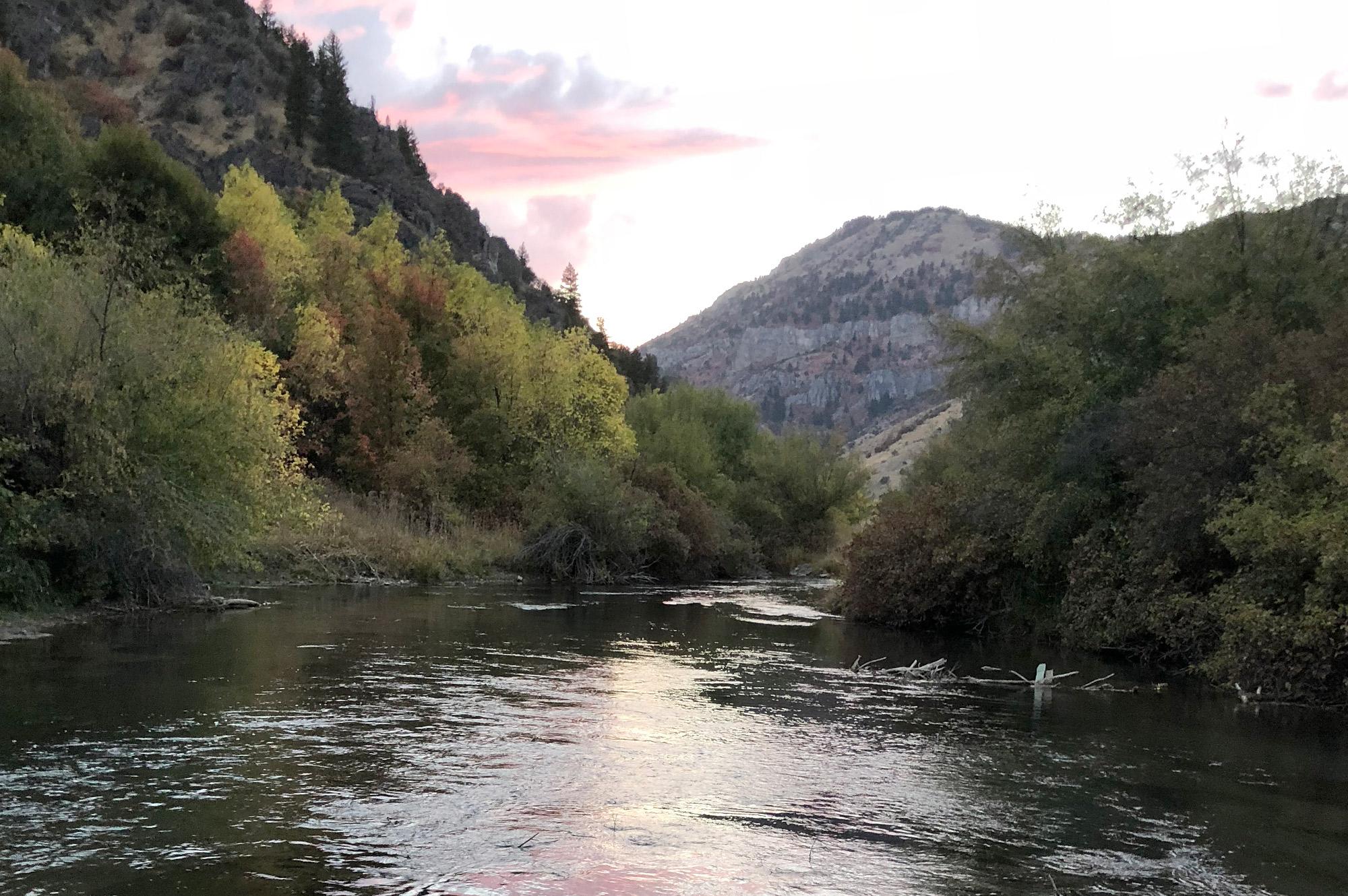 Black Smith Fork River, Utah