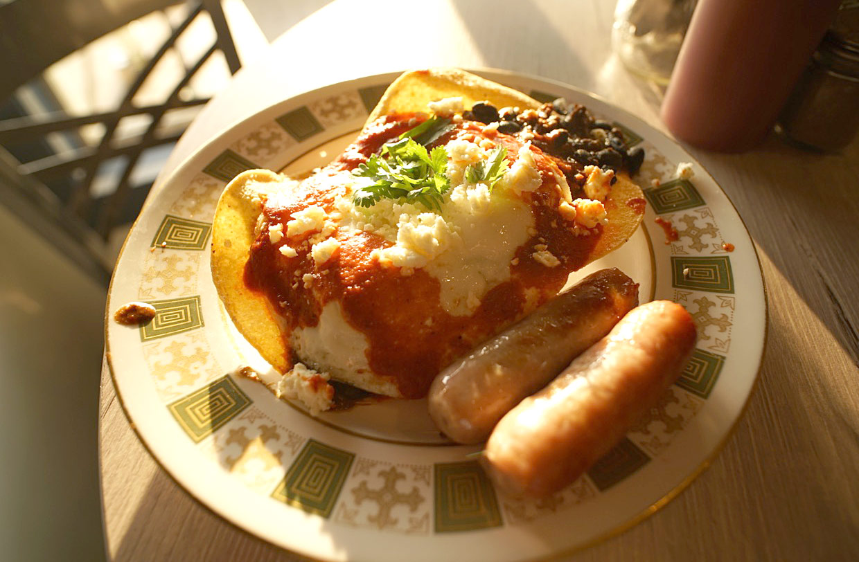 Huevos Rancheros at Butter Cafe in Victor, Idaho