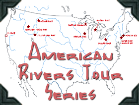 American Rivers Tour Series Posts with videos, text and photos