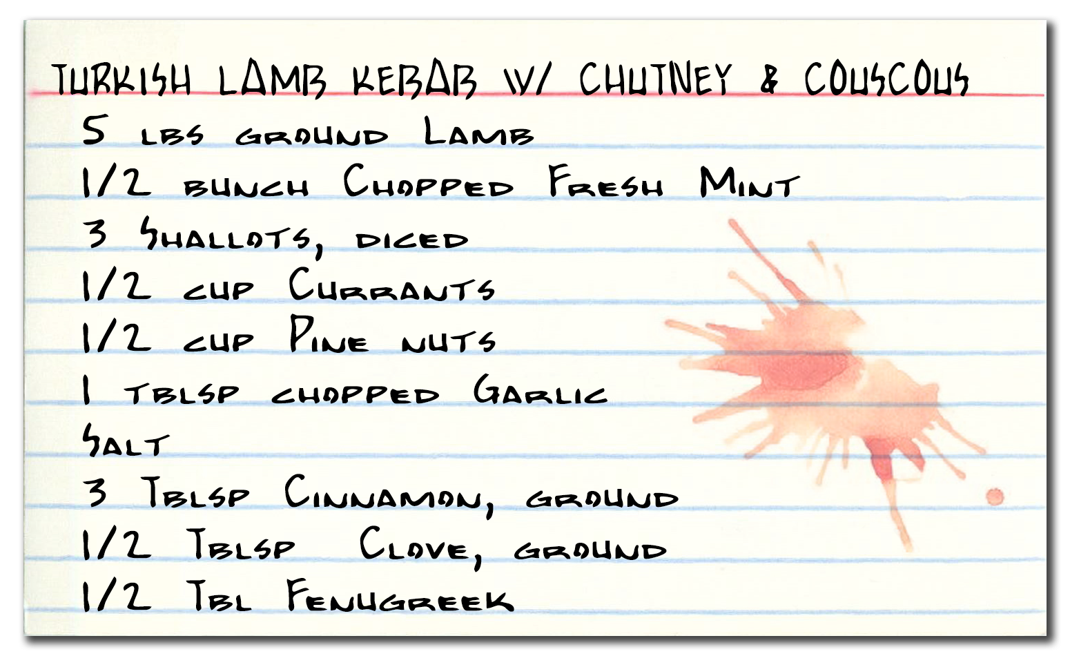 Turkish lamb kebab recipe link