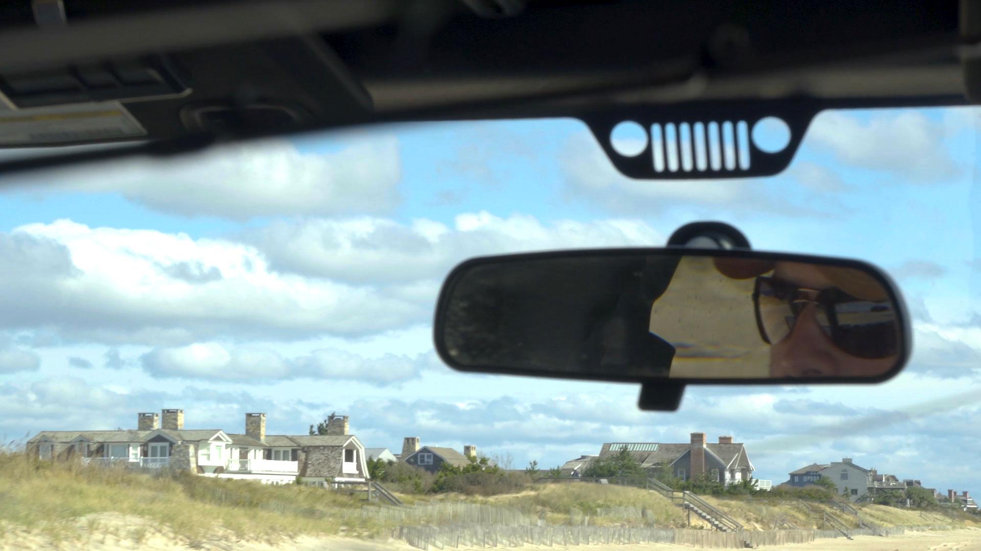 Driving the beaches around Sag Main