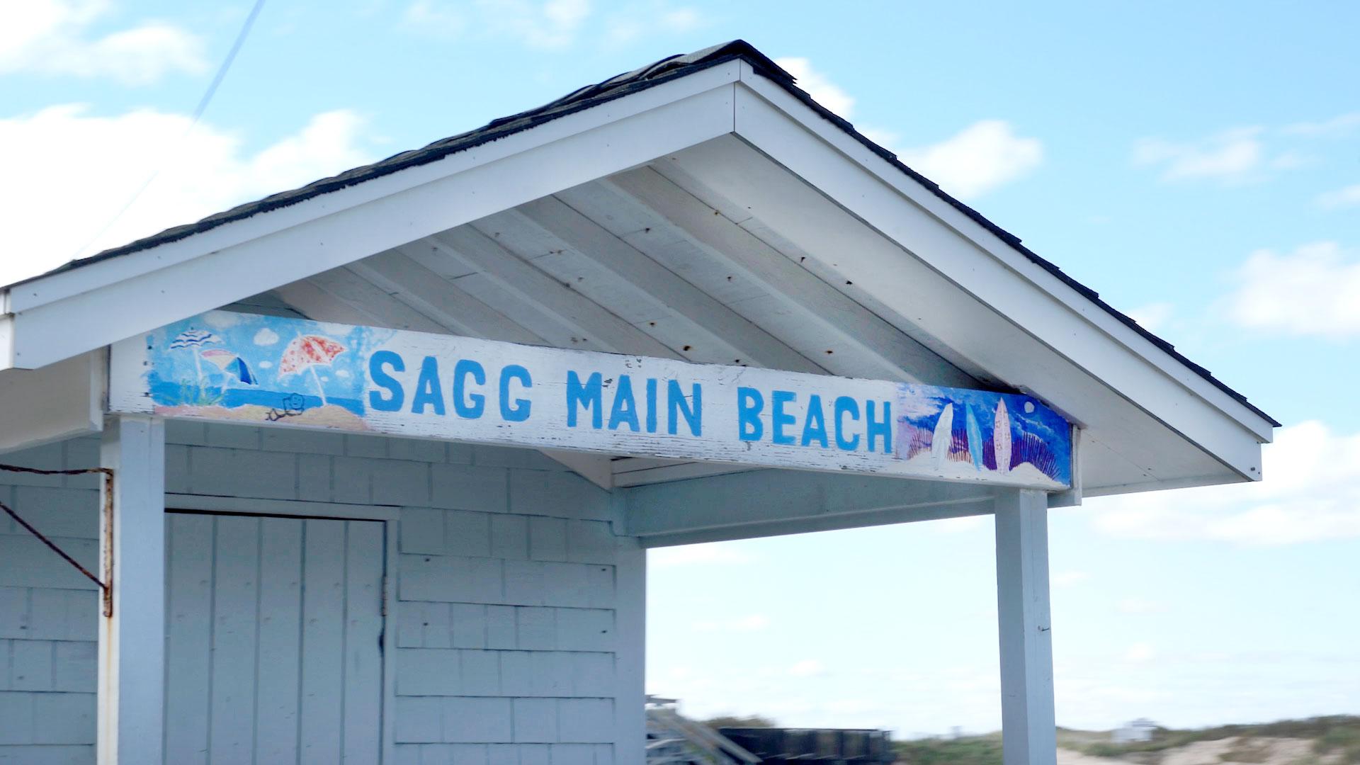 Sagg Main Beach on Long Island, New York
