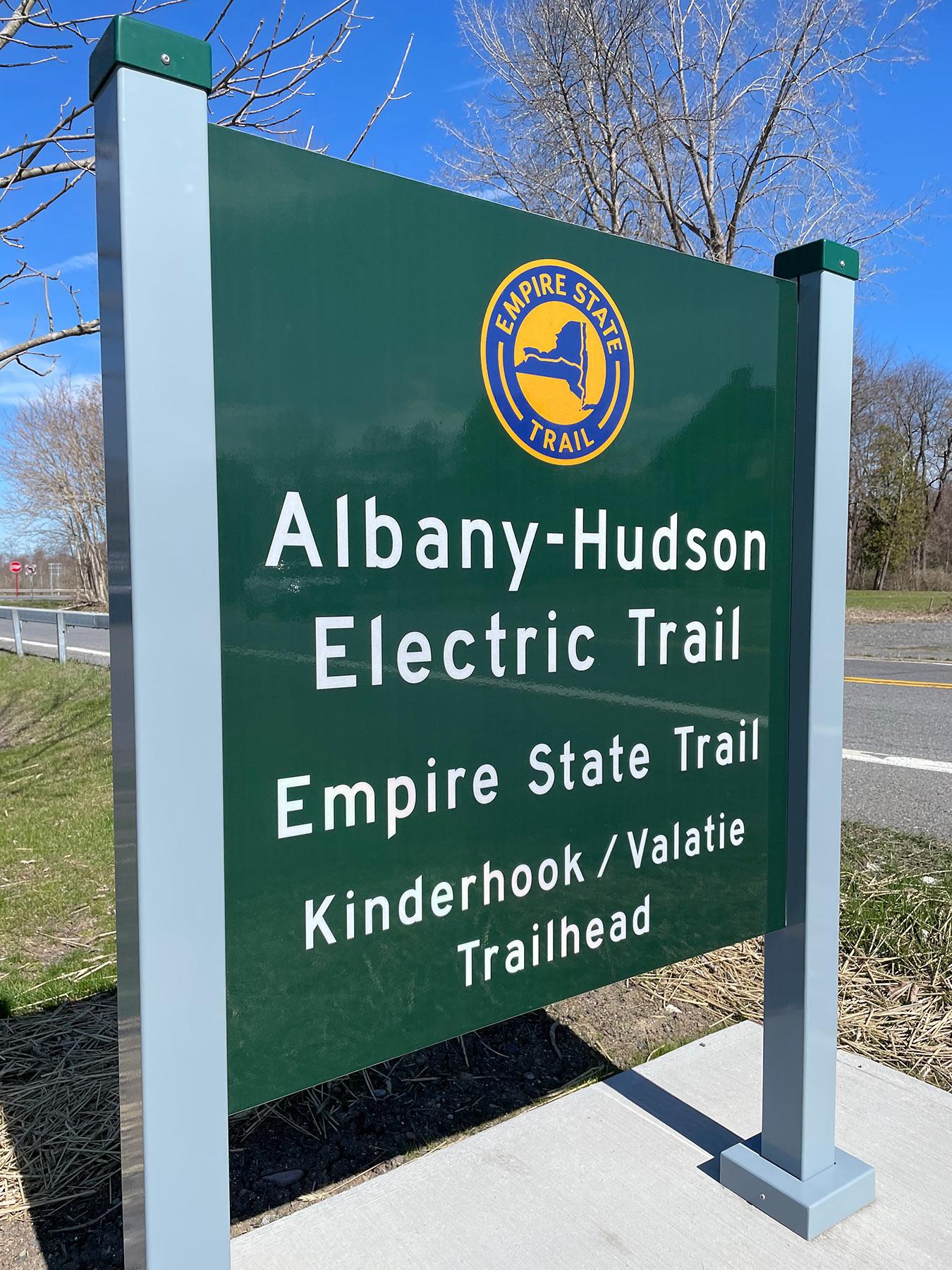 Albany-Hudson Electric Trail (Hudson to Kinderhook)